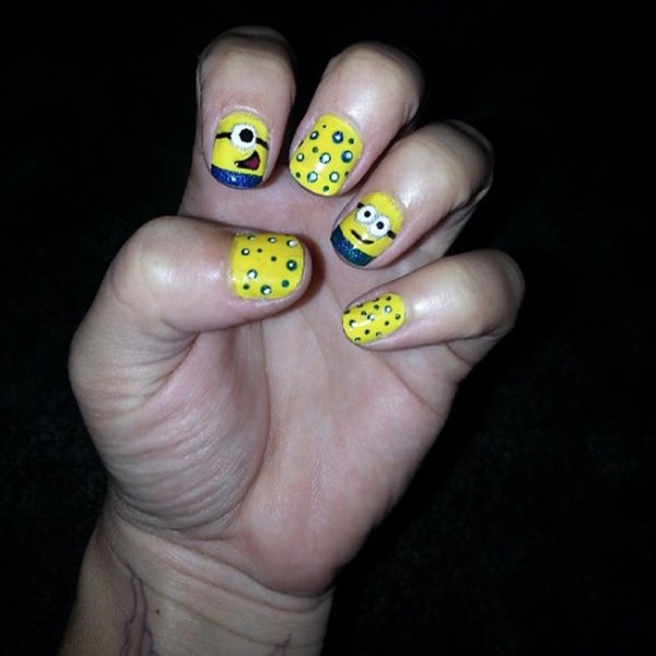 45 Más divertido Esbirro Diseños de uñas le va a gustar - ElUtil